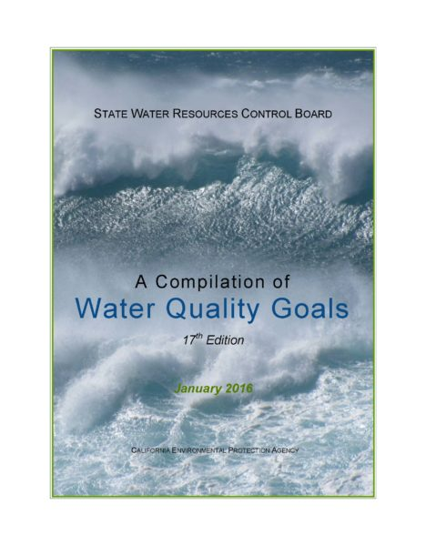 SWB Water Quality Goals Cover