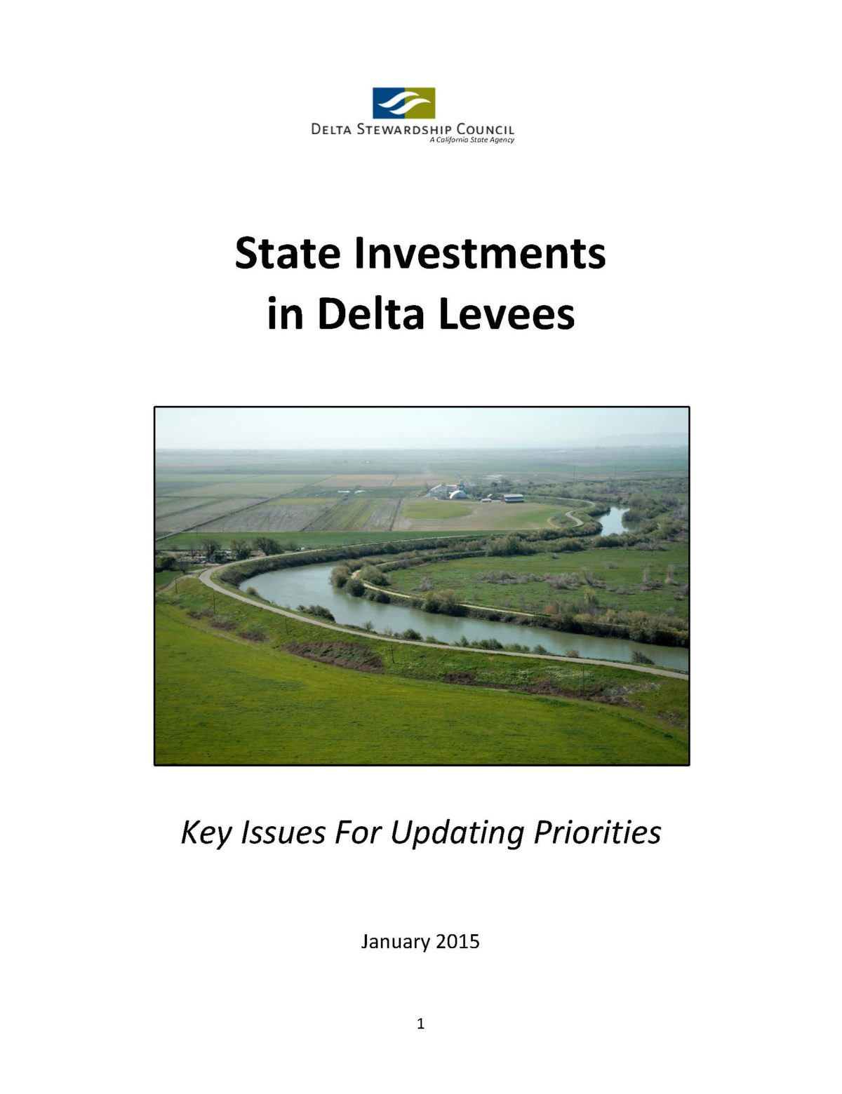 State Investments in Delta Levees
