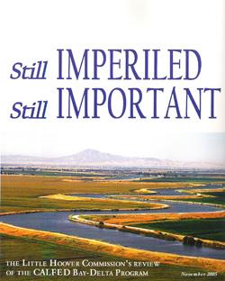 CalFed: Still Imperiled, Still Important