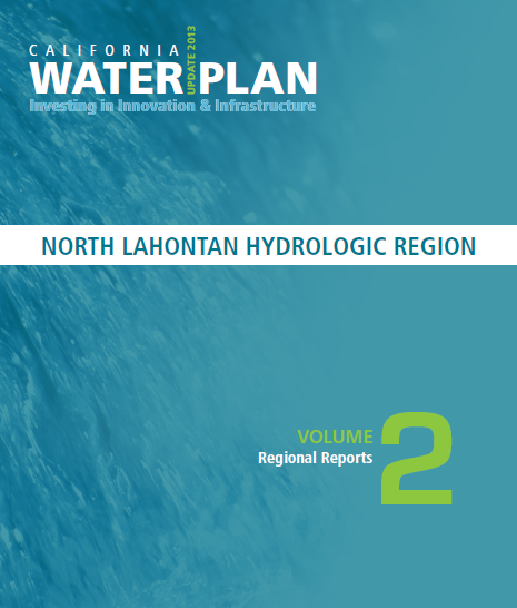 CWP Update 2013 North Lahontan Hydrologic Region Cover