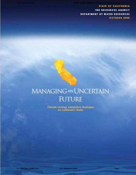 Managing Uncertain Future Cover