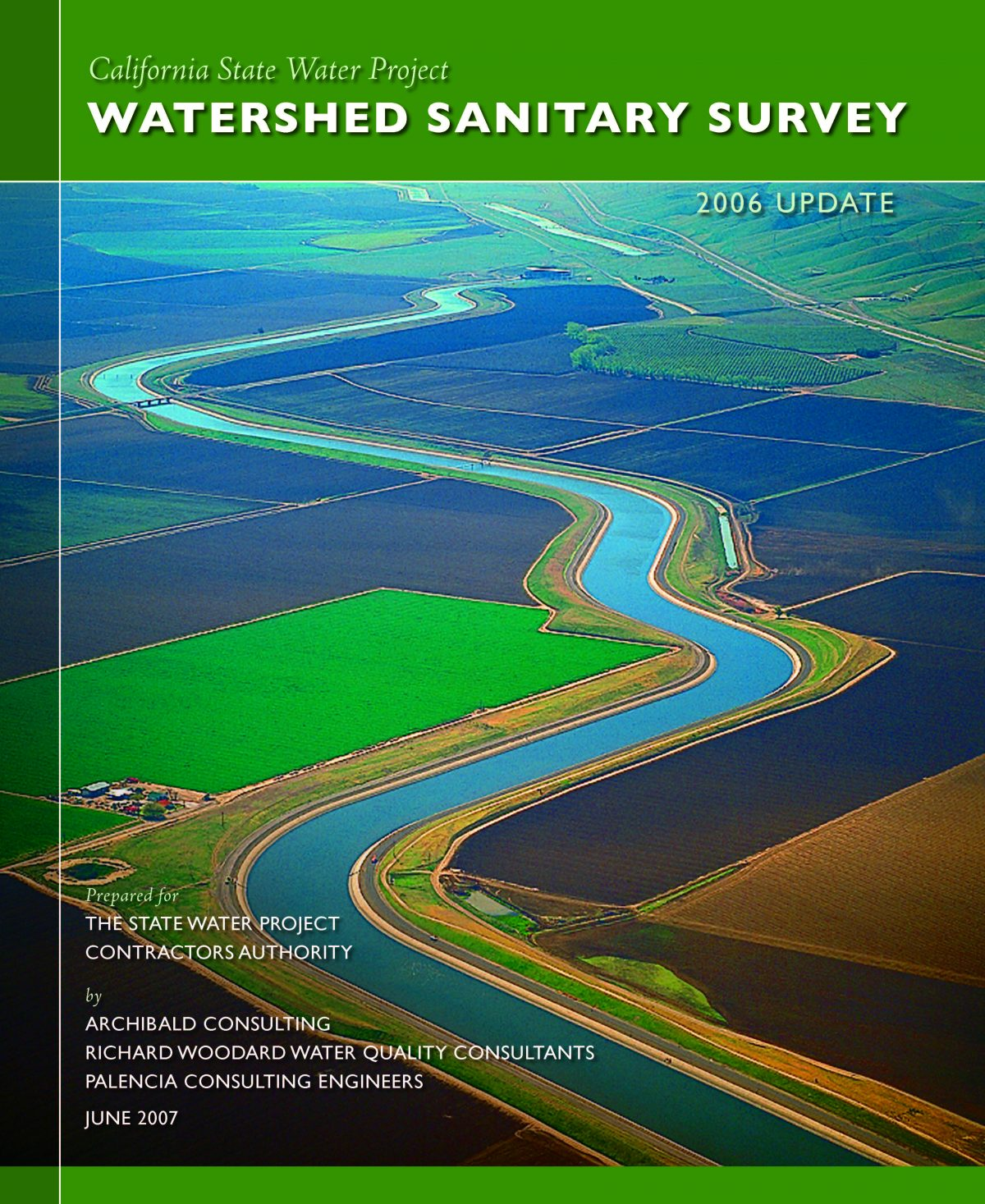 California State Water Project 2006 Watershed Sanitary Survey Update