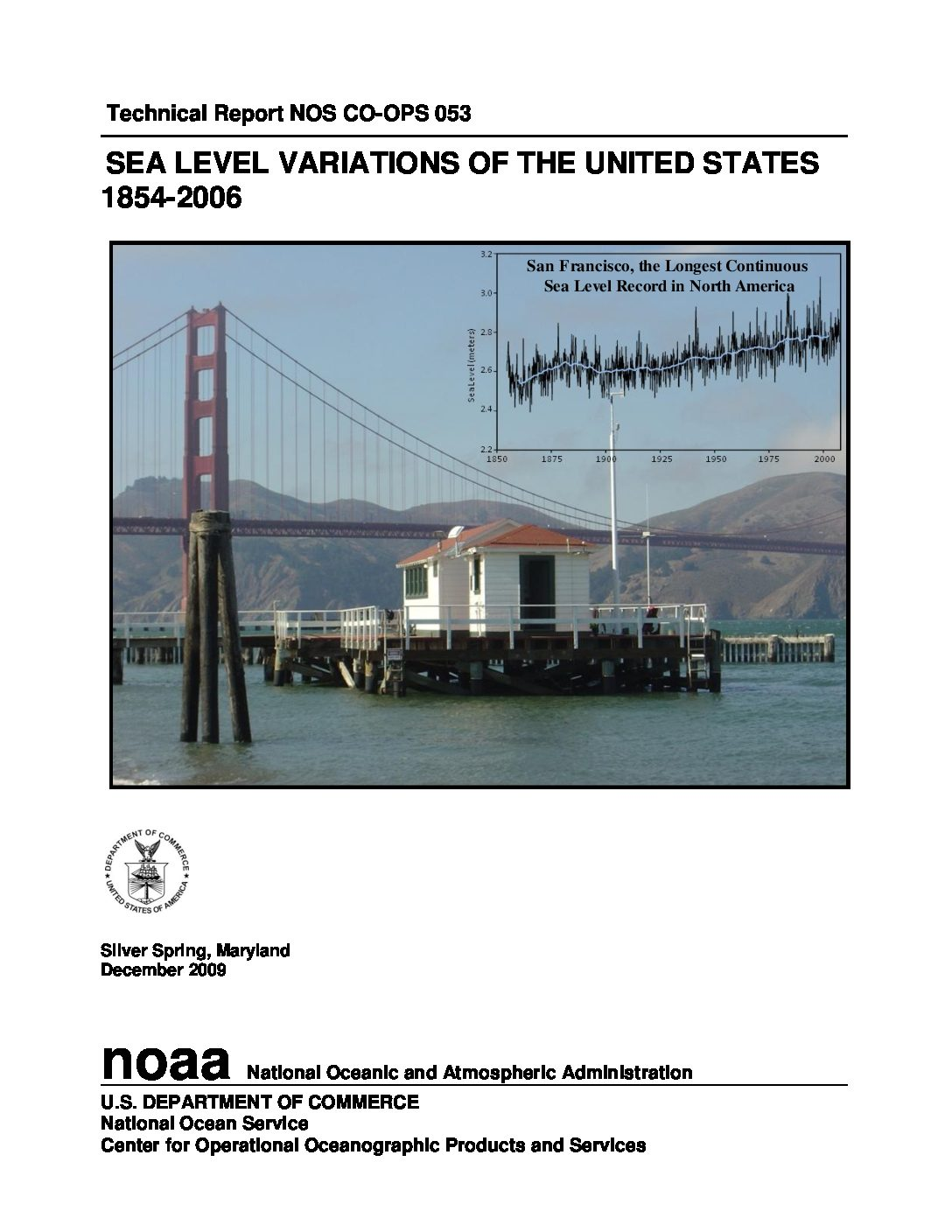 Sea Level Variations of the United States 1854–2006