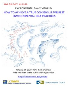 How to achieve a true consensus for best environmental DNA practices @ UC Davis-Walter A. Buehler Alumni Center